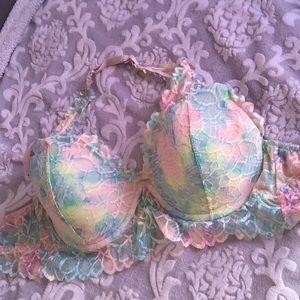 Victoria's Secret PINK tie dye bralette